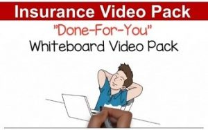 video marketing pack for insurance agents